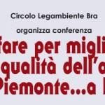Che fare per migliorare la qualità dell'aria in Piemonte…a Bra?