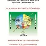 Manifiesto Proporcionalista publicado en EE.UU.