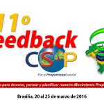 Congresso della CSP a Brasila dal 20 marzo al 25 marzo 2016
